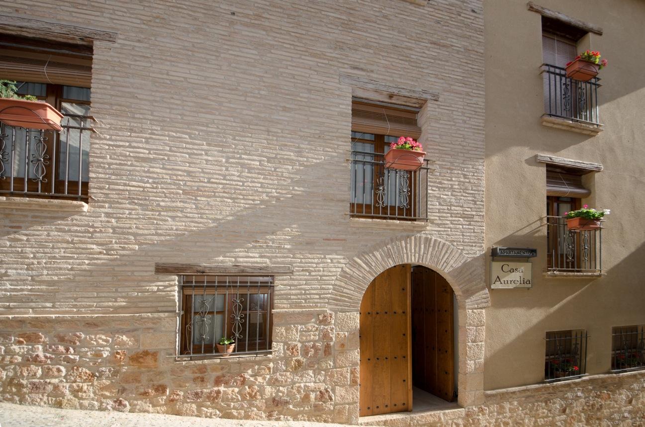 fachada Casa Aurelia